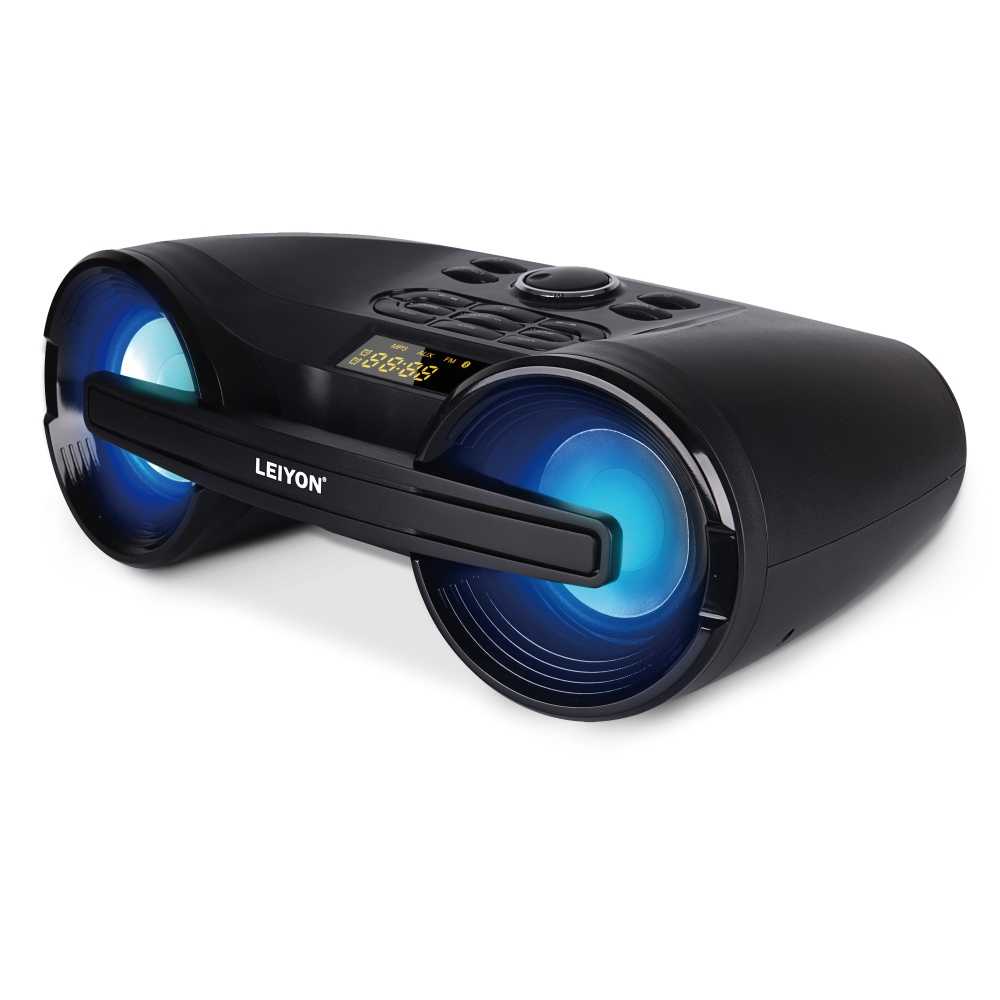 Bluetooth Boom Box LED light